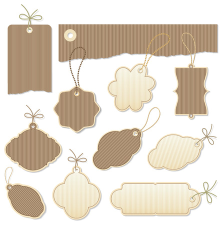 set of  tags Stock Vector - 6901963