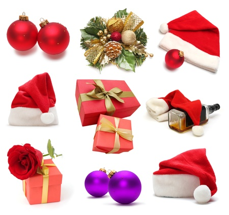 Christmas collection Stock Photo - 8348605