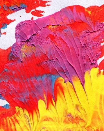 abstract acrylic paint  photo