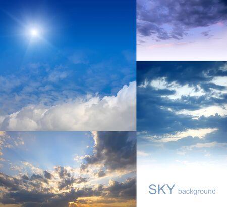 set of sky photo