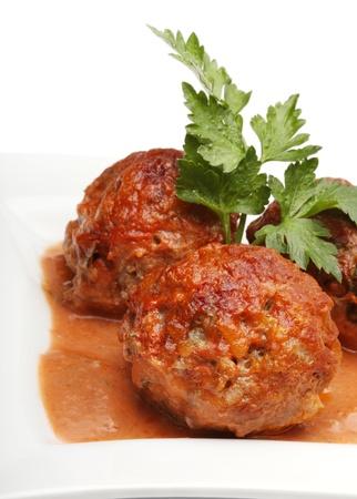 minced meat: meatball
