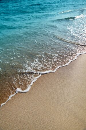 wave and sand Stock Photo - 9239755