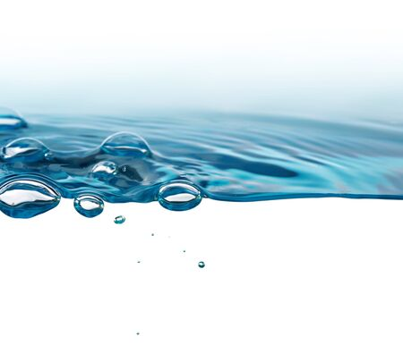 deep water: water background Stock Photo