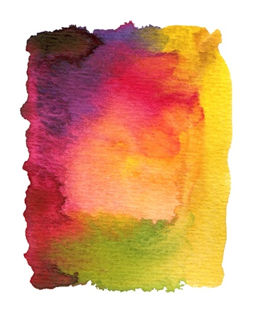 watercolor paper texture: Abstract watercolor painted background