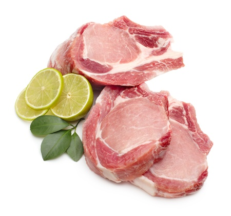beef meat: raw meat isolated