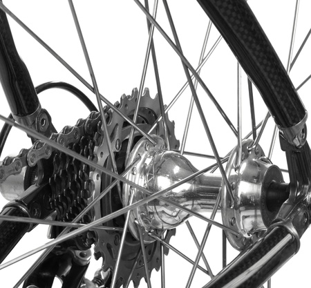 bicycle detail Stock Photo