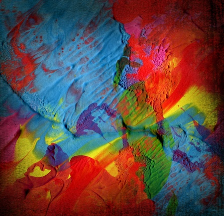 abstract paint background photo