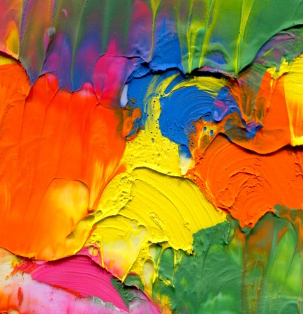 vibrant colors: Abstract acrylic painted background