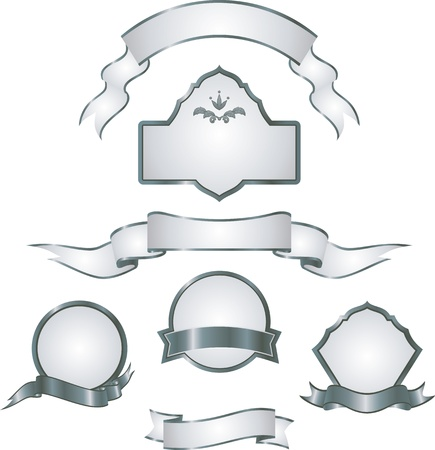 placards: set of design elements