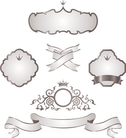 set of design elements Stock Vector - 13326798