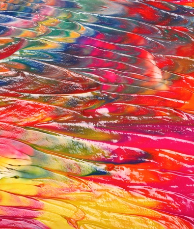 Abstract acrylic painted background Stock Photo - 13833235