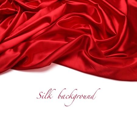 raso: rosso di seta tessuto di fondo