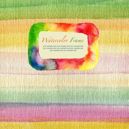 aquarelle: abstract textured watercolor background