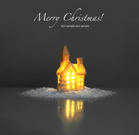 cosiness: festive light in house Stock Photo