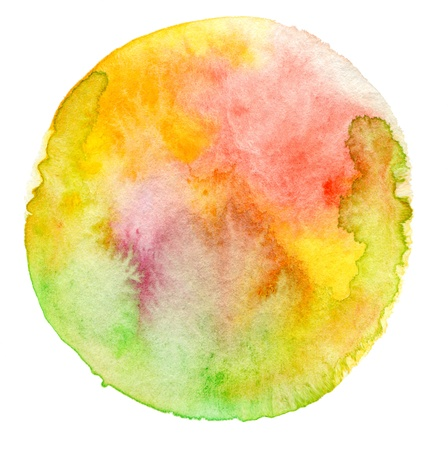 glob: Abstract  watercolor painted background Stock Photo