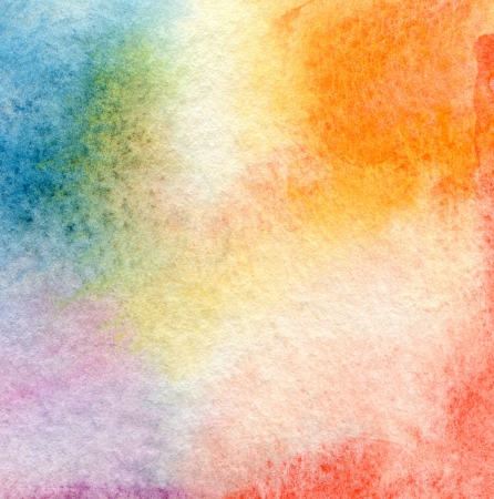 aquarelle painting art: Abstract  watercolor painted background Stock Photo