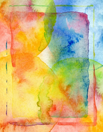 aquarelle painting art: Abstract watercolor painted background