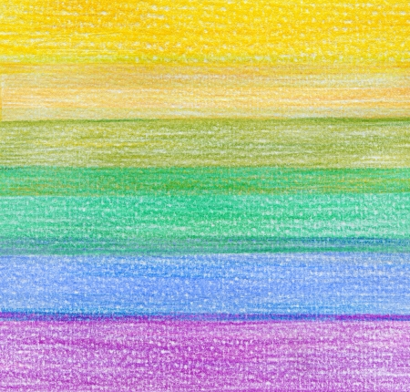 paiting: color pencil background Stock Photo