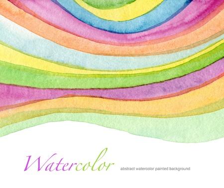 抽象的なアクリルと水彩ペイントの背景