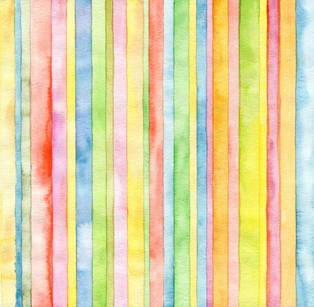 aquarelle painting art: Abstract  strip watercolor painted background Stock Photo