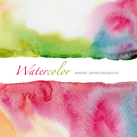 handmade graphic texture: Abstract watercolor painted background