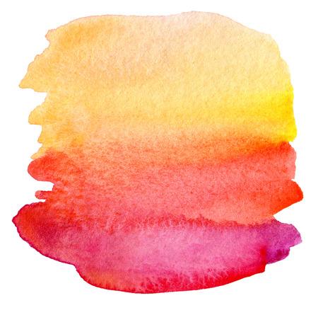 背景を描いた抽象的な水彩画