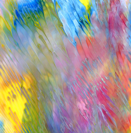 Abstract acrylic and watercolor painted background