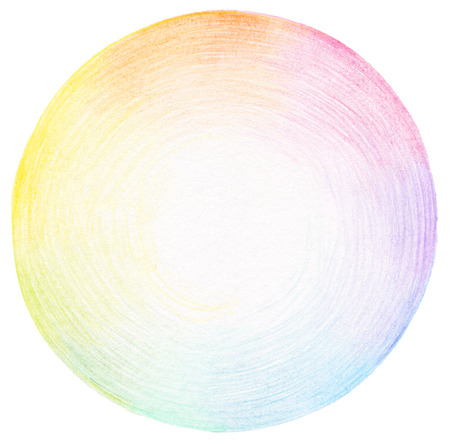 Abstract circle pencil scribbles background texture. photo