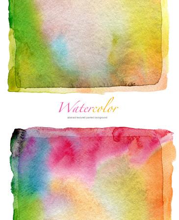 colores pastel: Resumen acuarela y acr�lico pintadas de fondo. La textura del papel.