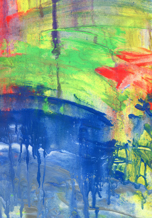 oil color: Abstract acrylic and watercolor painted background