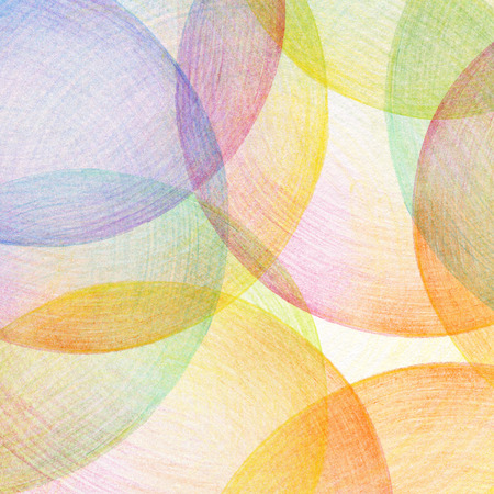 Abstract color pencil scribbles background  Paper texture  photo