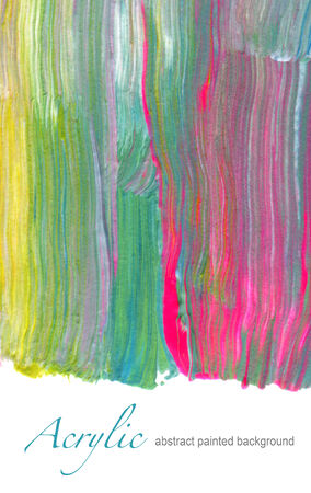 Abstract textured acrylic hand painted background photo