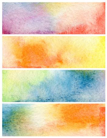 colores pastel: Conjunto de acr�lico y acuarela abstracta fondo pintado. Textura de papel.