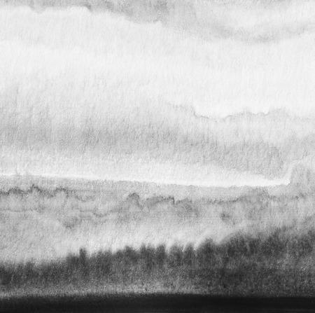 抽象的な水彩画には、背景が描かれています。紙のテクスチャです。 写真素材