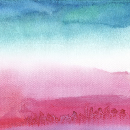 aquarelle: Abstract acrylic and watercolor painted background.Paper textured. Stock Photo