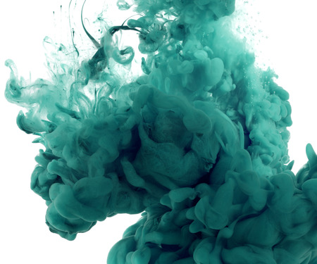 ink splash: Acrylic colors in water. Abstract background.