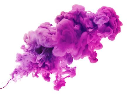 Los colores acrílicos y tinta en el agua. Resumen de antecedentes.