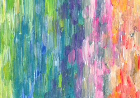 Abstract textured acrylic hand painted background Stock Photo