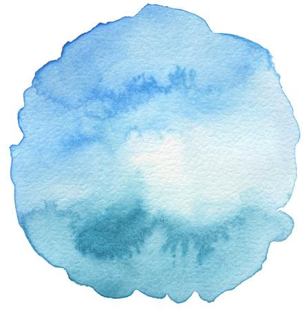 Résumé acrylique et aquarelle peinte fond. Texture papier.