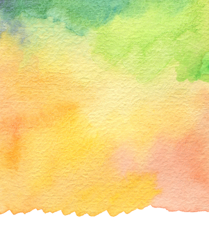 painted background: Abstract acrylic and watercolor brush strokes painted background. Texture paper.
