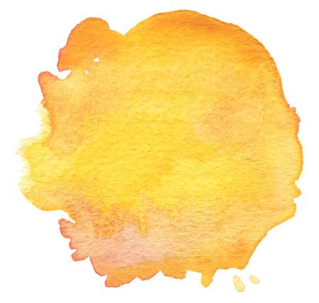 blot: Blot watercolor painted background. Paper texture. Stock Photo