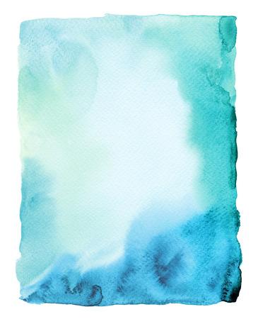 抽象的な水彩画には、背景が描かれています。テクスチャ ペーパー。 写真素材