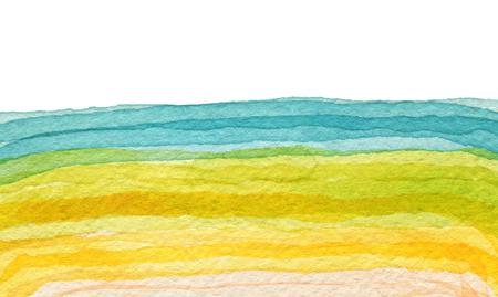 colores pastel: Pinceladas de acrílico y pincel de acuarela abstracta pintada de fondo. La textura del papel.