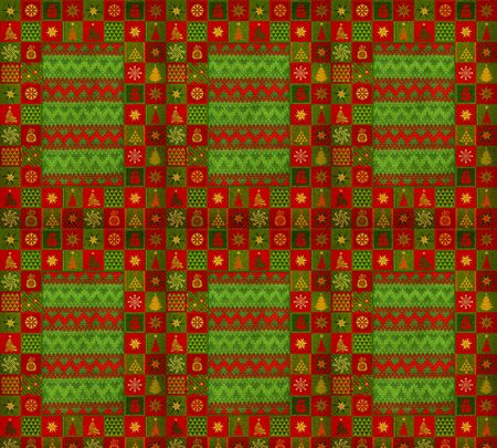 tapis: Christmas ornament carpet