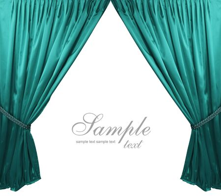curtain background: turquoise theater curtain background