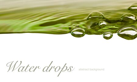 drop of water: water drop background Stock Photo