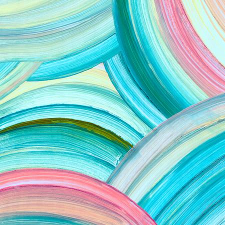 Abstrakte Acrylmalerei Hintergrund Standard-Bild