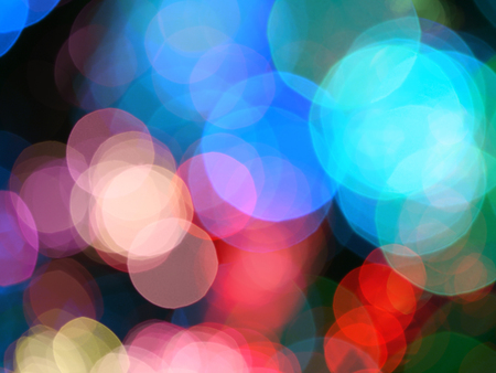blinking: Abstract lights blur blinking background. Soft focus. Stock Photo