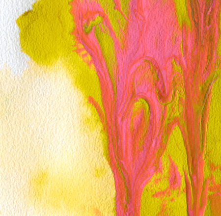 canvas painting: Abstract acrylic and watercolor painted background