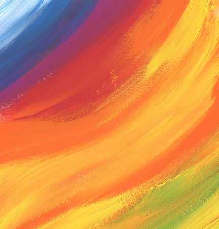oil paint: Abstract color acrylic and watercolor painted background Stock Photo